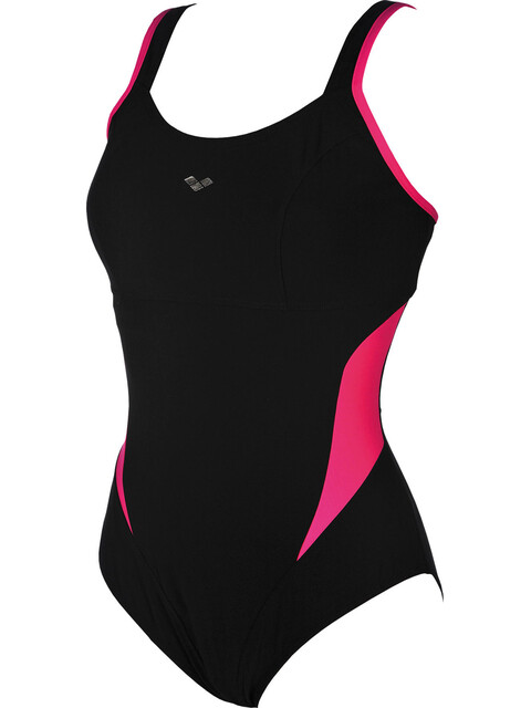 arena Makimurax Low C Cup One Piece Swimsuit Women black-rose violet